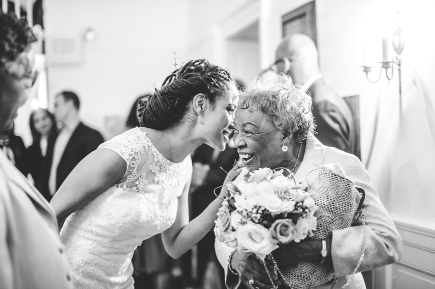 057 black and white bride with grandmother