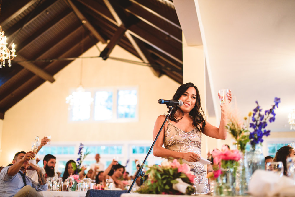 045 matron of honor toasts during a filipino wedding.jpg