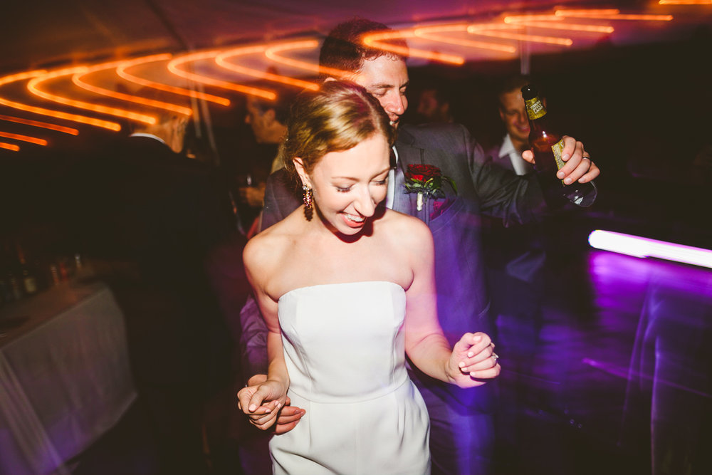 013 - bride and groom dancing together at their wedding reception.jpg