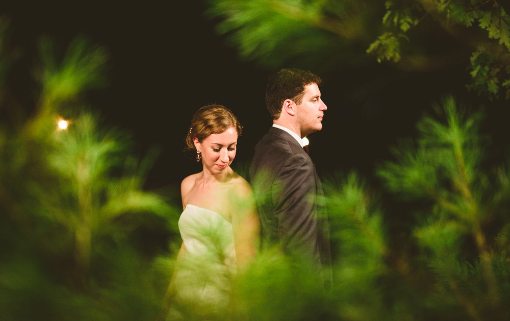 015 - night wedding portraits in green pine forest.jpg