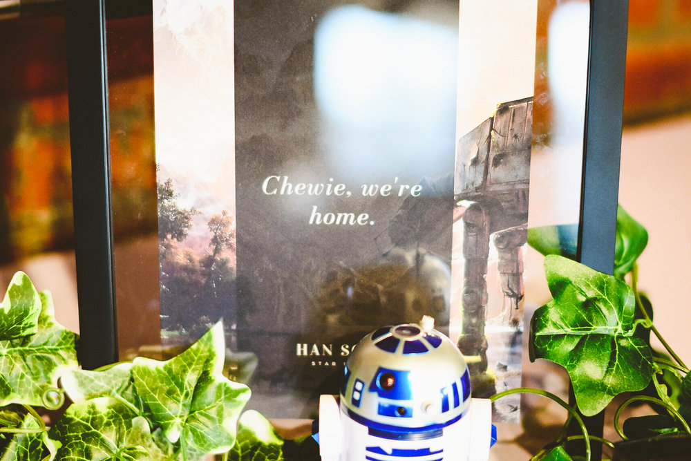 027 - chewie we're home sign at a star wars themed wedding in richmond virginia.jpg