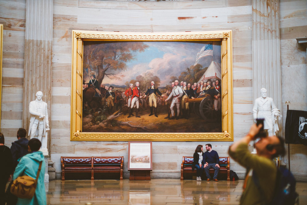 004 - engagement session with painting of george washington.jpg
