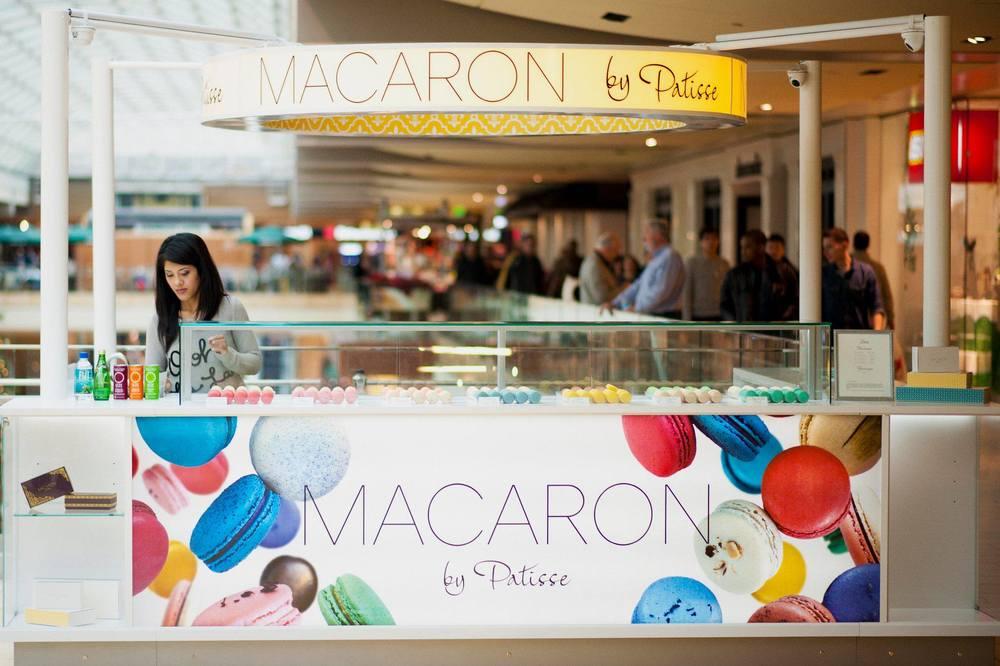 galleria, kiosk, macarons, macaroons, mall, macarons houston, macaroons houston, best macarons houston