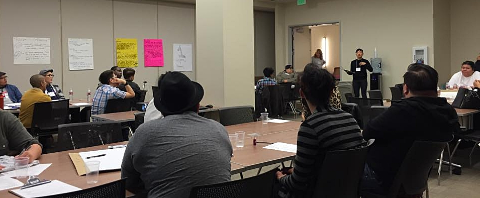 Trans* Gender NonConforming People of Color Centered Community Health Policy Forum, South Los Angeles 2015