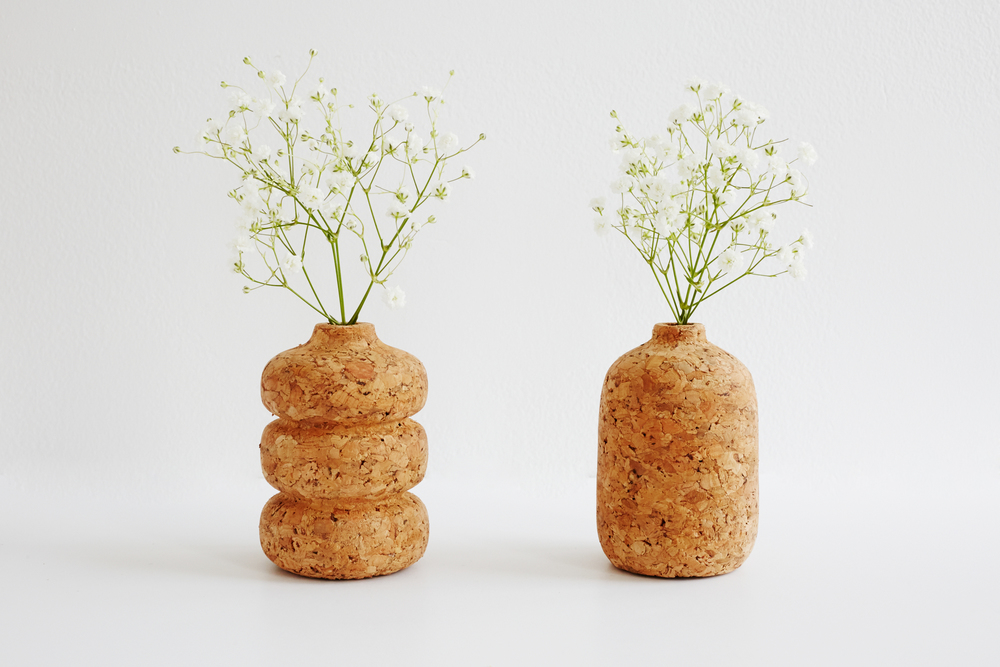 The petite cork vase set!