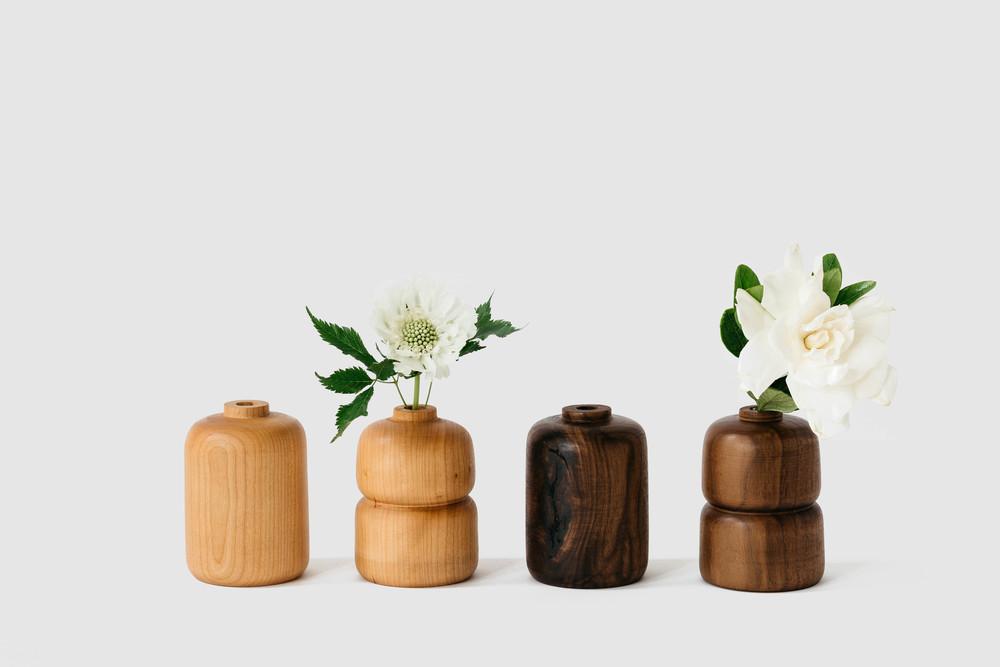 Wood Bud Vase Melanie Abrantes