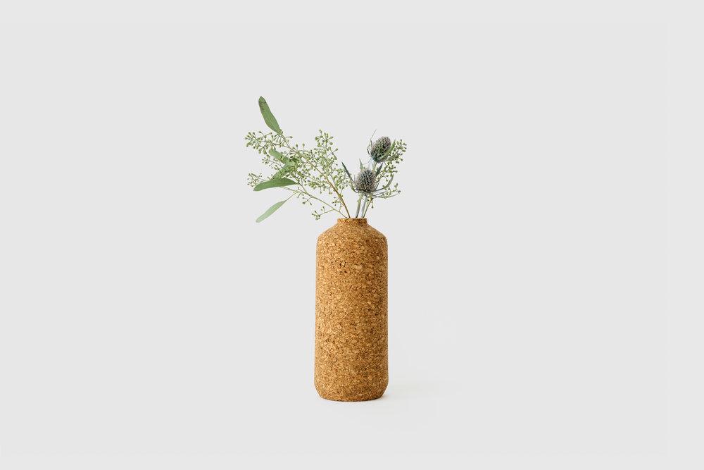 Cork Tall Vase, $98