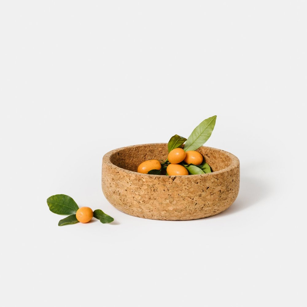 Vintage Natural Cork Bowl
