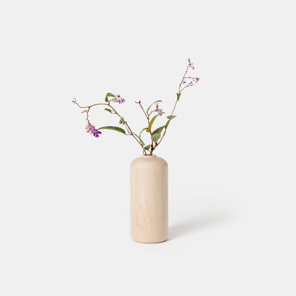 Tall Maple Vase