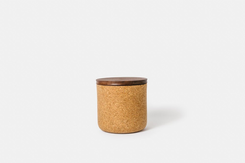 Medium Walnut Canister