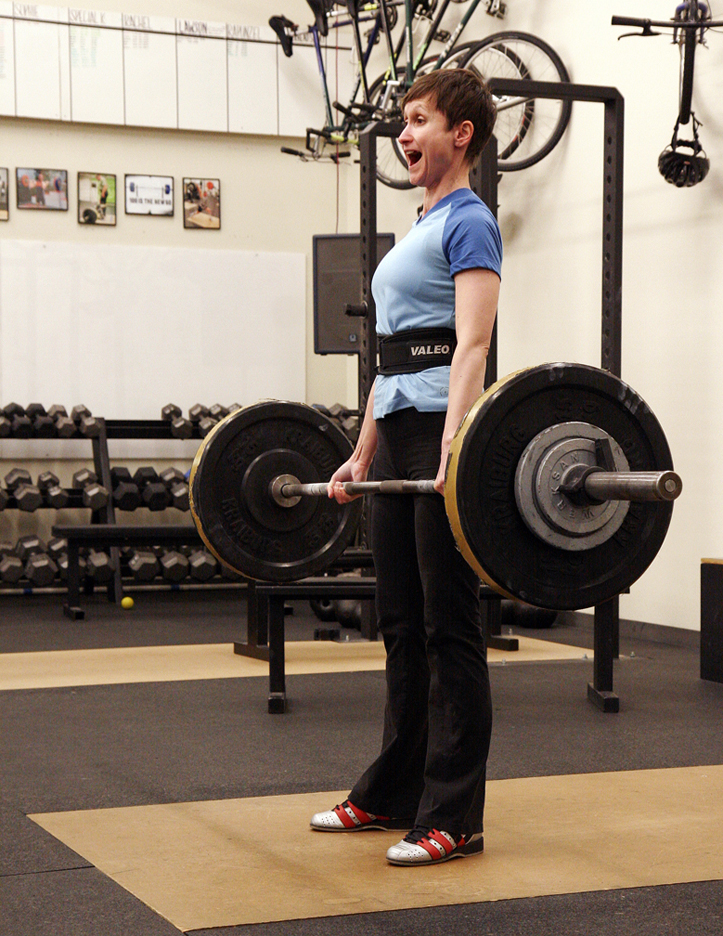 Happy women deadlift at Eastside Strength & Conditioning