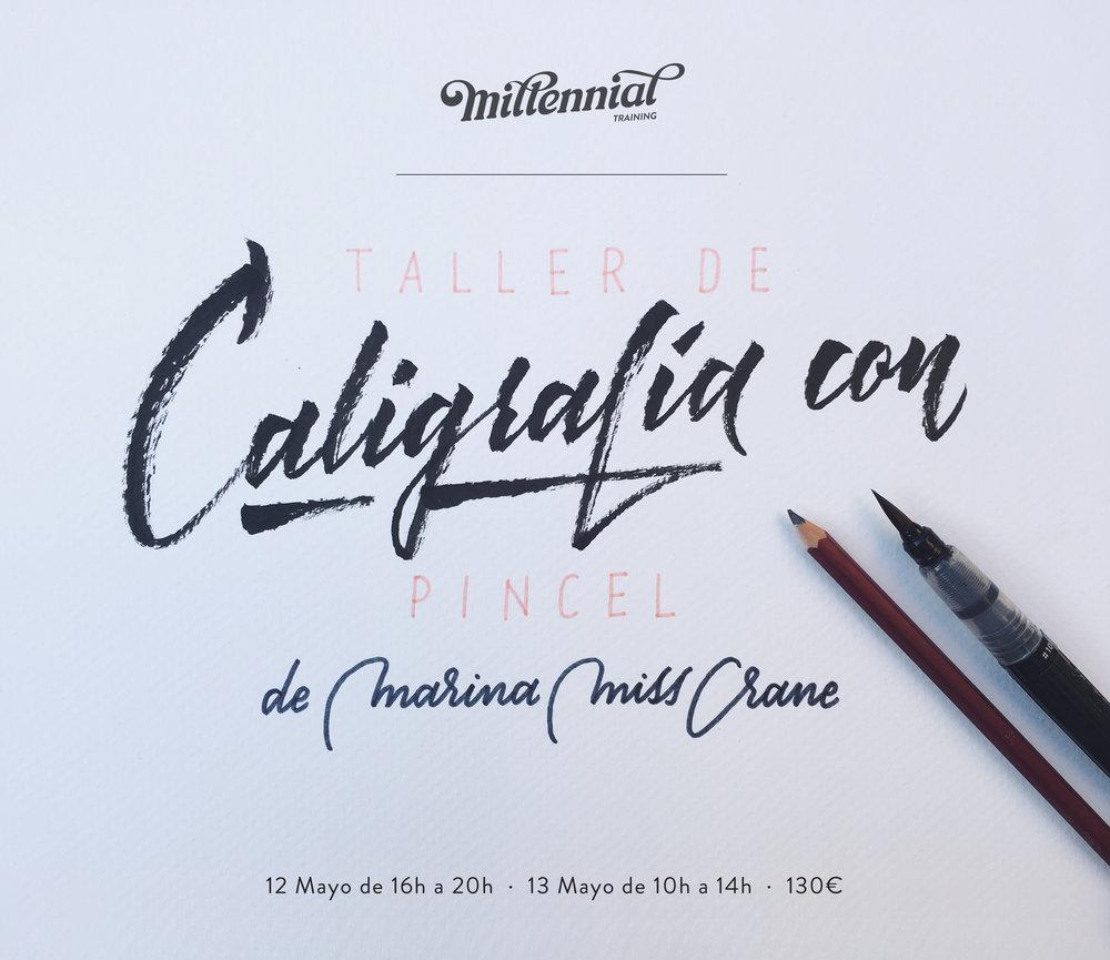 taller lettering Valencia