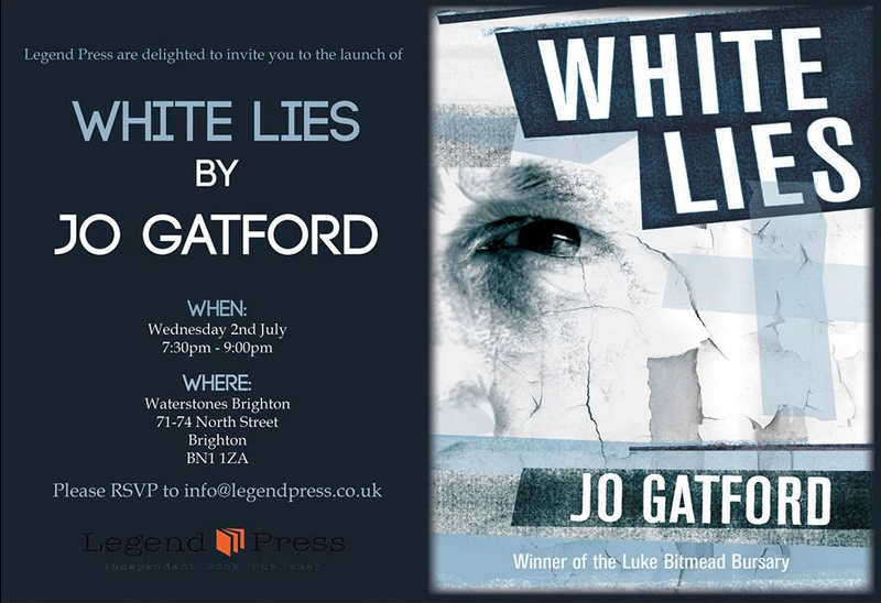White Lies Jo Gatford book launch
