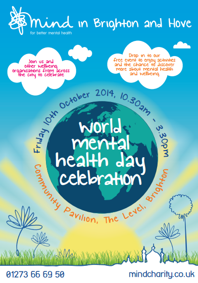 world mental health day brighton
