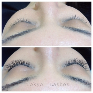 Our work at Tokyo Lashes...soft, full, clump free lashes every time!