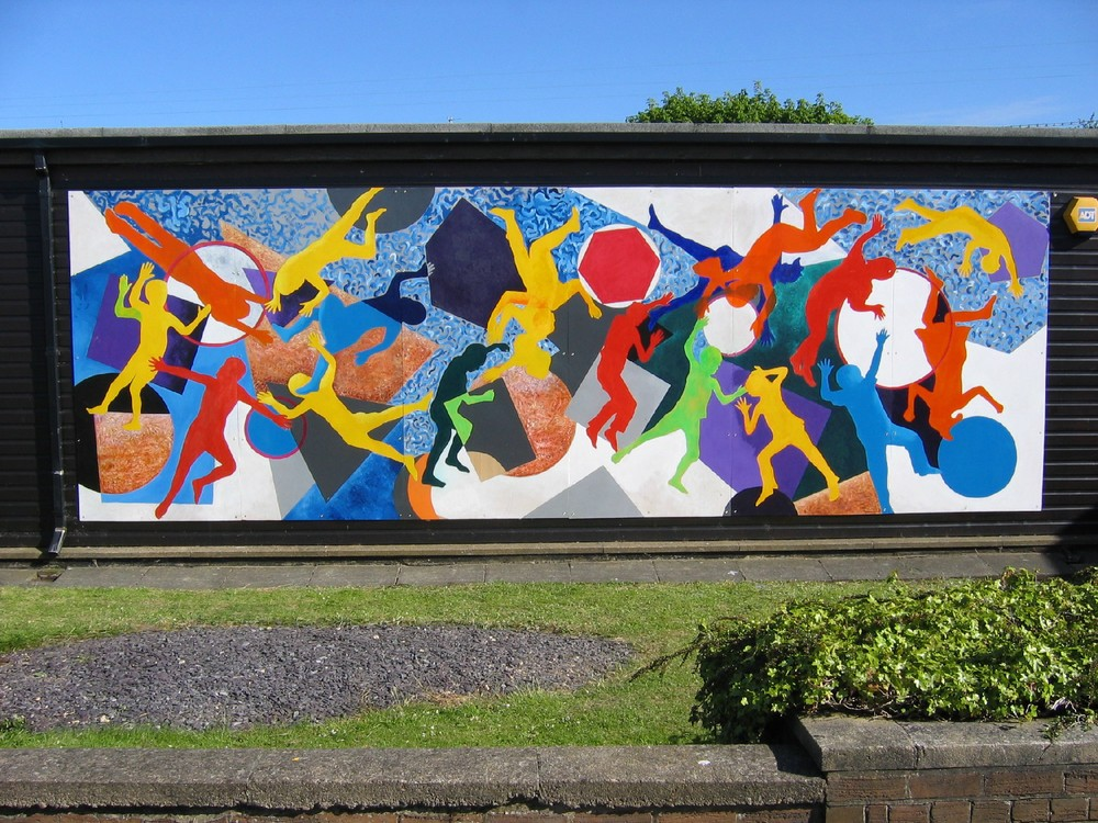 Parkside Infant School Mural