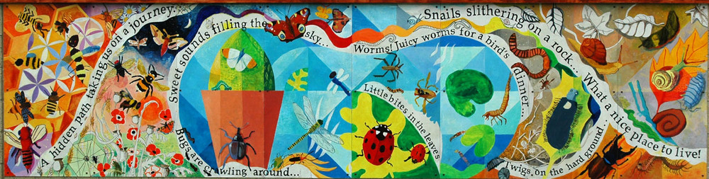 Bugs'n'Shrubs Mural Harlow Green