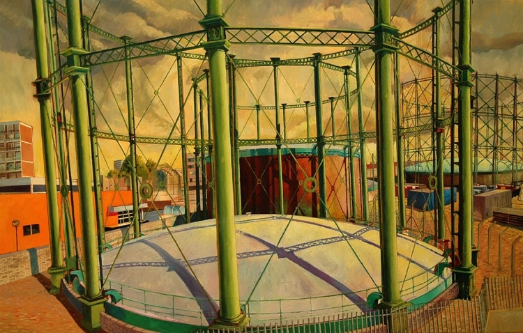 The Oval Gasometers