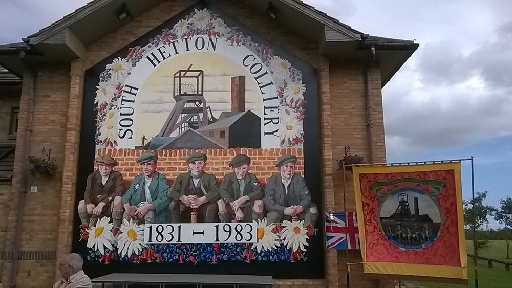 South Hetton Mural Replica