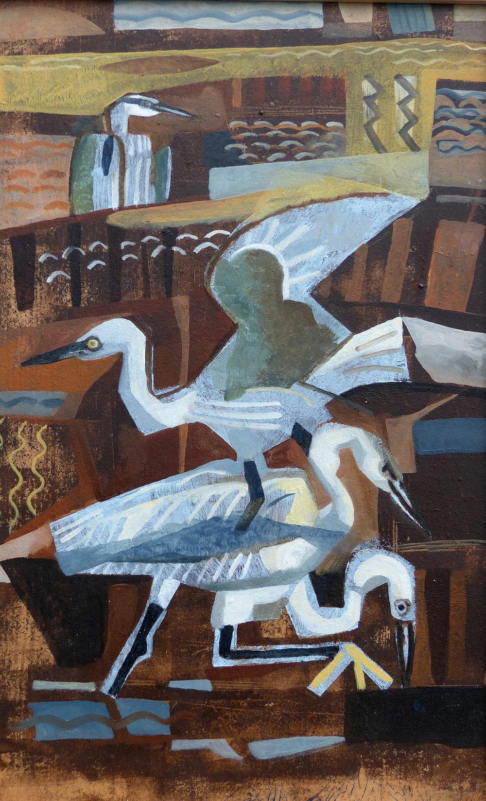 Egrets & Heron - Wallasea