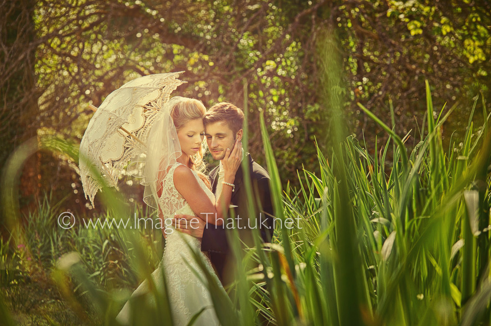 Intimate couple wedding photography The Lake Country House Hotel Llangammarch Wells Powys