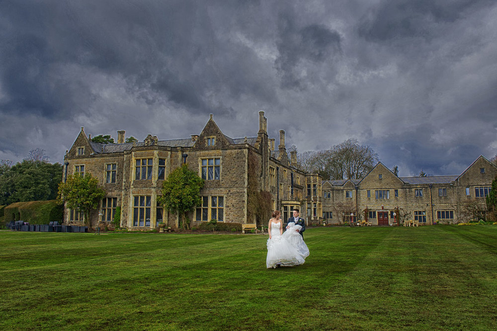Miskin manor winter wedding