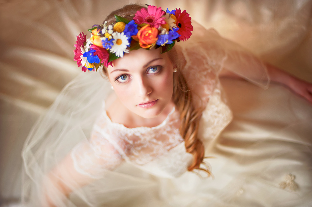 Award of Excellence for Wedding Bridal Portrait