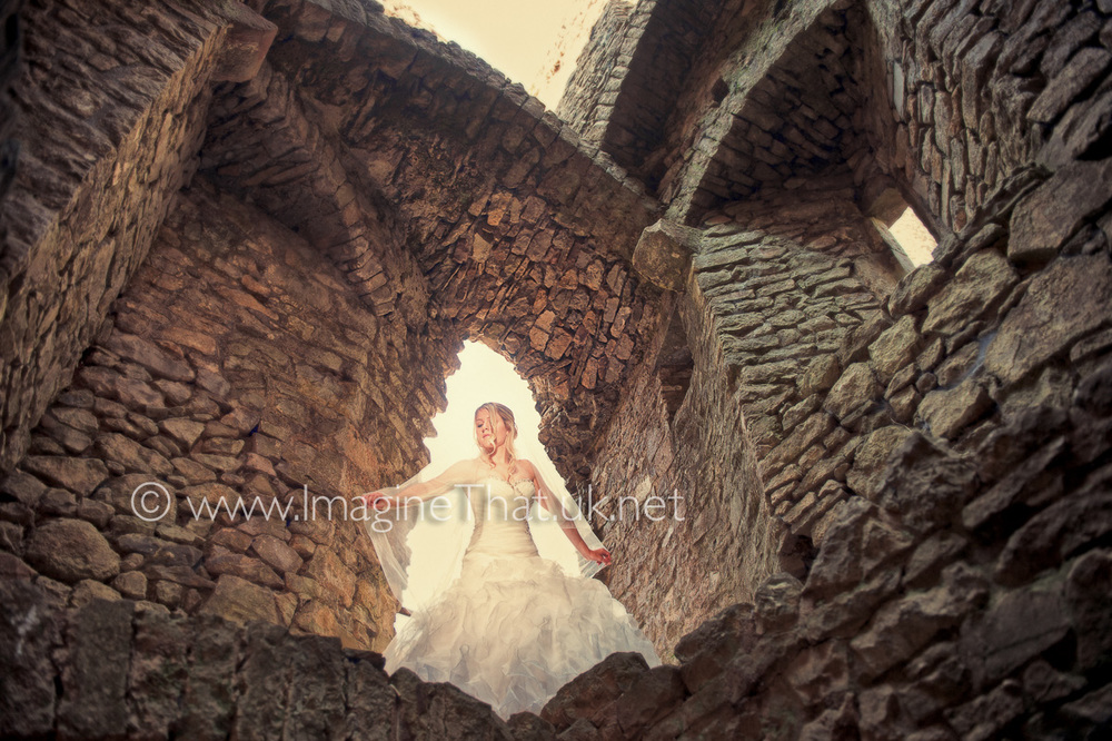 Wedding Photography Weobley Castle