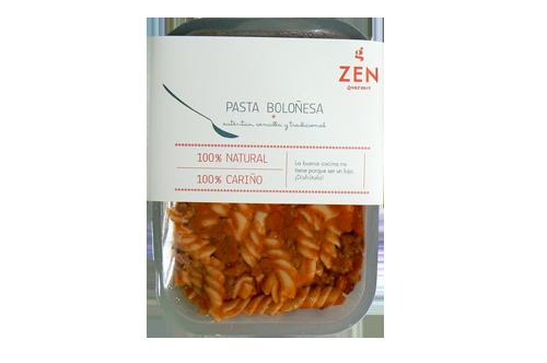 Pasta Boloñesa o con Chorizo Envase 300gr Caducidad 90 días Sin conservantes