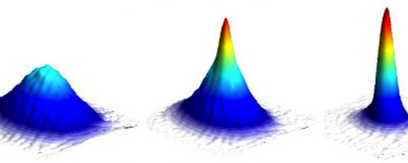 Image: Formation of a Bose-Einstein condensate.