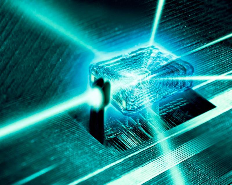 "Artist's impression ""Quantum Computer Core"" (c) Richard Kailfineartamerica.com."