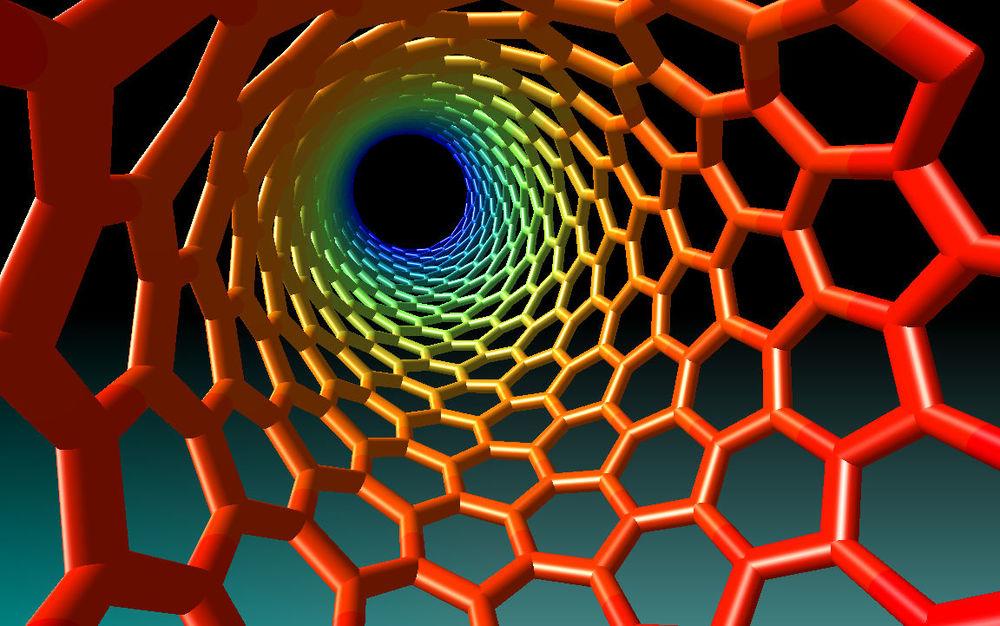 Inside a nanotube