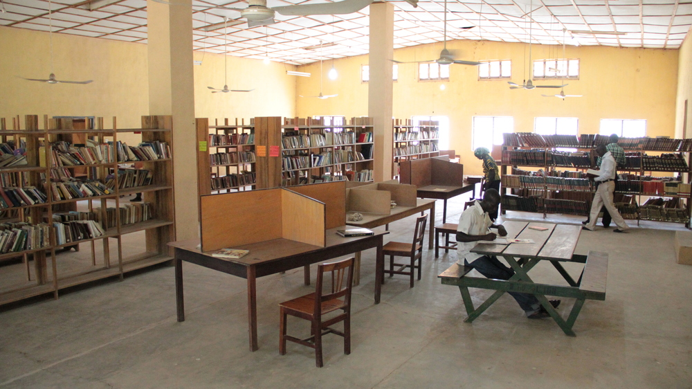 R. Job Library main collection room