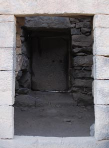 The second door in the second tower
