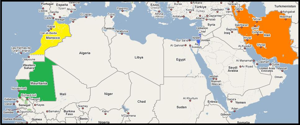Midtausten og Nord-Afrika