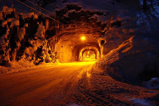 Tapte tunnelar