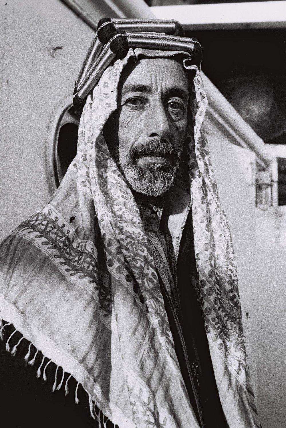Ali, son av Sharif Hussein, (1879–1935). Her fotografert av Zoltan Kluger i 1933 (Foto:  Wikipedia )