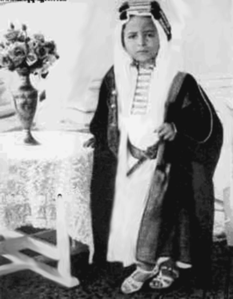 Fem år gamle kong Feisal II av Irak. Feisal var barnebarnet til Ali. (Foto:  Wikipedia )
