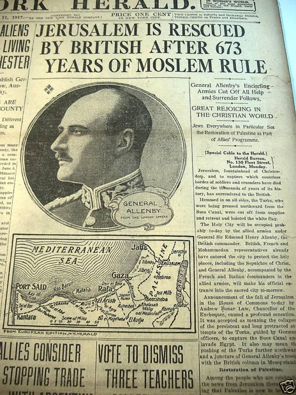 New York Herald,  11. desember 1917.