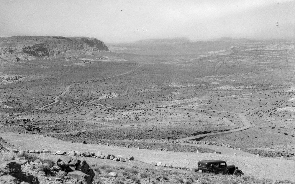 Wadi Rum i sørlege Transjordan