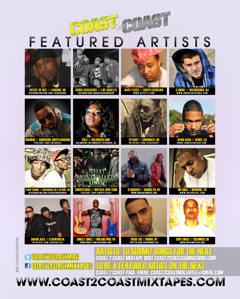 image of recording artists H Squared feautred in Hip Hop Weekly Magazine in 2011