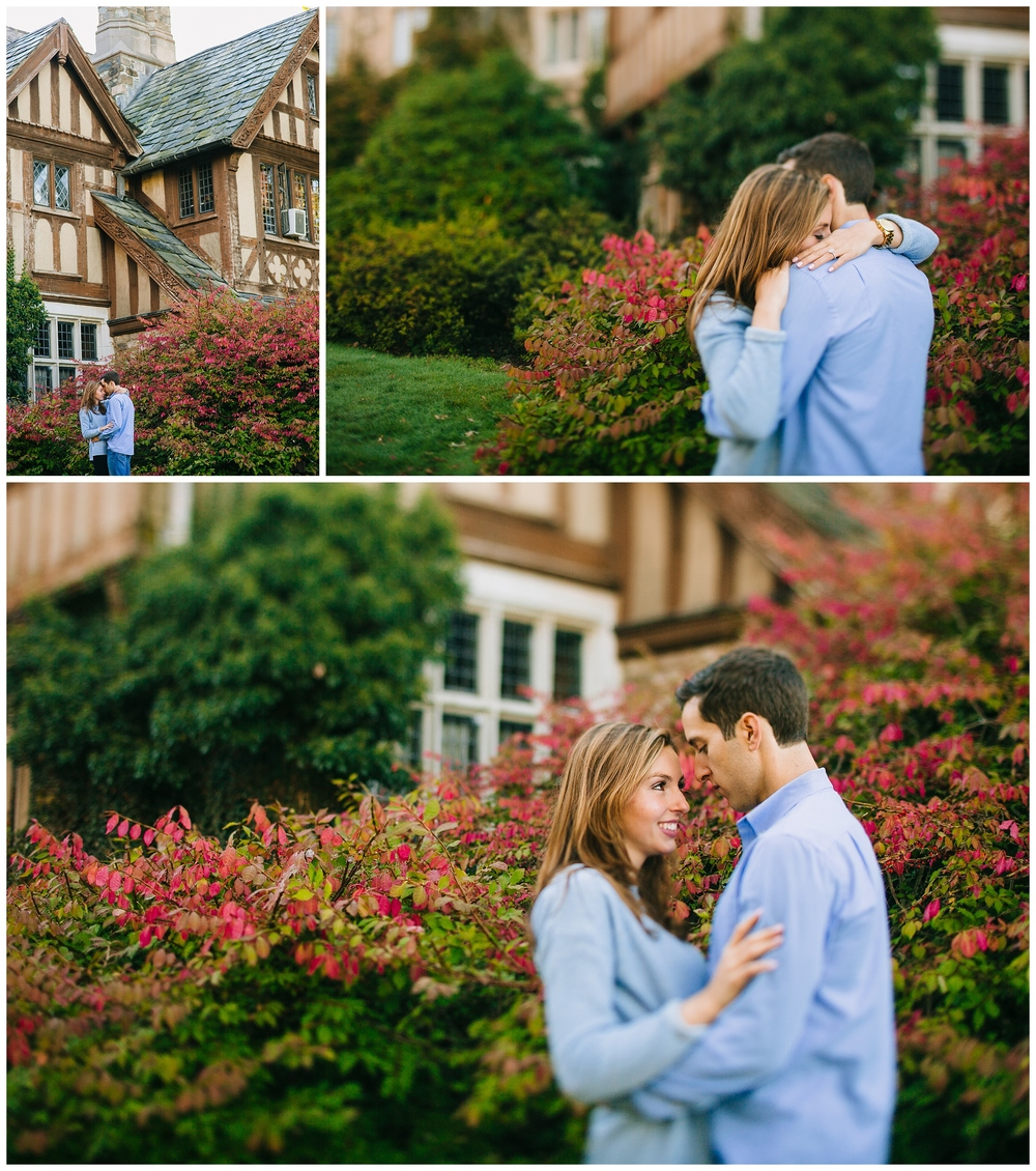 Skylands Manor Fall Engagement Photos