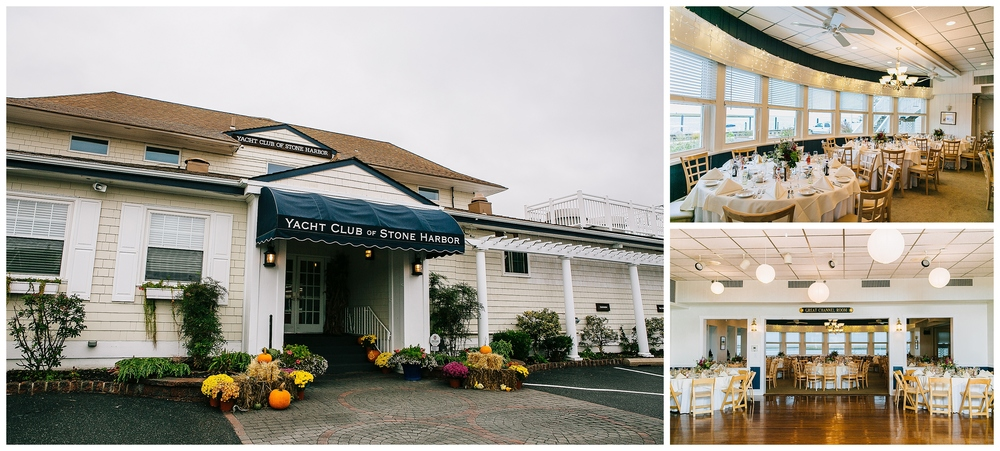 Stone Harbor Yacht Club LBI Jersey Shore Wedding