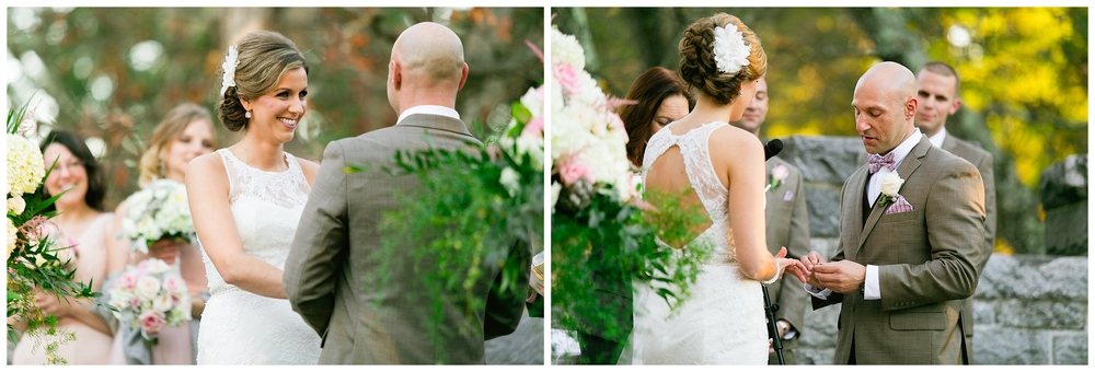 New England Boston Searles Castle Wedding Photographer fall