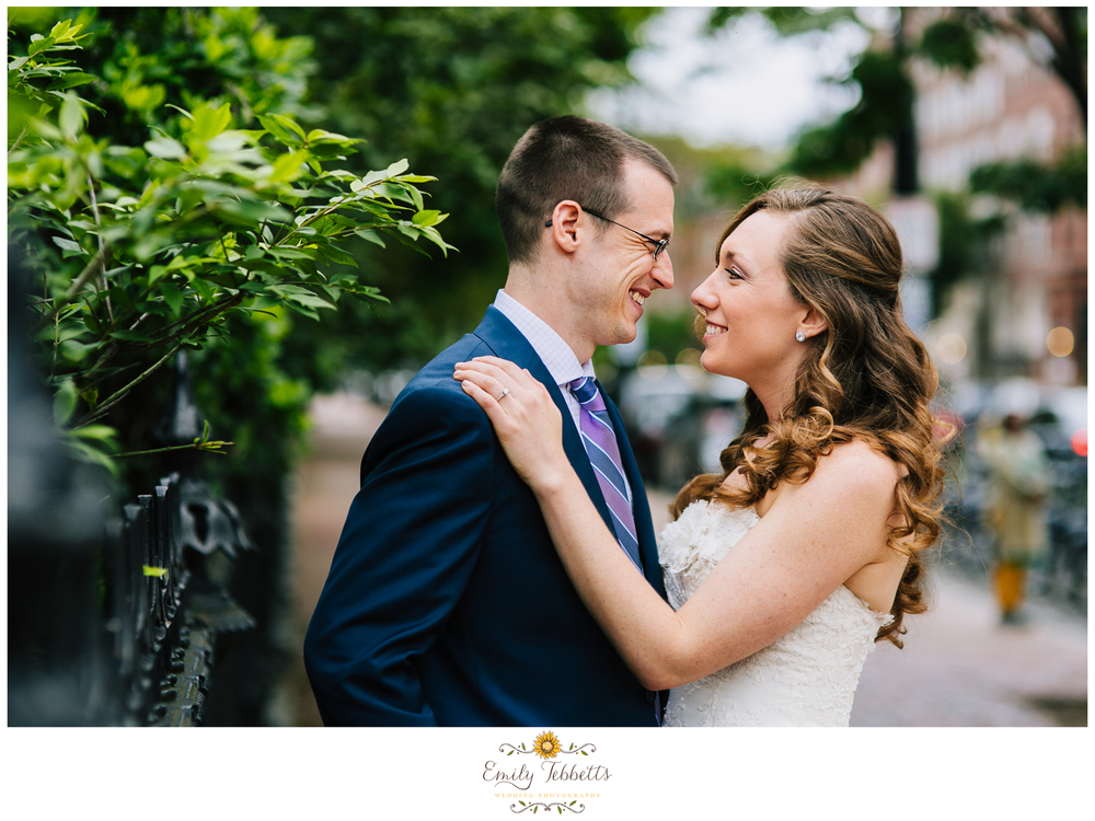 Emily Tebbetts Wedding Photography Boston Beacon Hill Boston Public Gardens Elopement Wedding Impromtpu