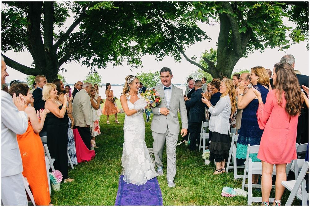 Emily Tebbetts Wedding Photography Thompson Island Boho Wedding MA Boston Harbor Islands