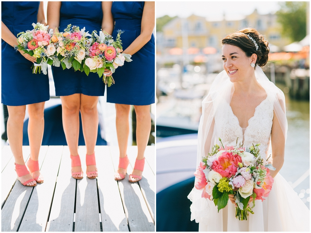 Emily Tebbetts Wedding Photography Saybrook Point Inn and Spa Old Saybrook CT wedding ocean dock boat yacht nautical airy wedding