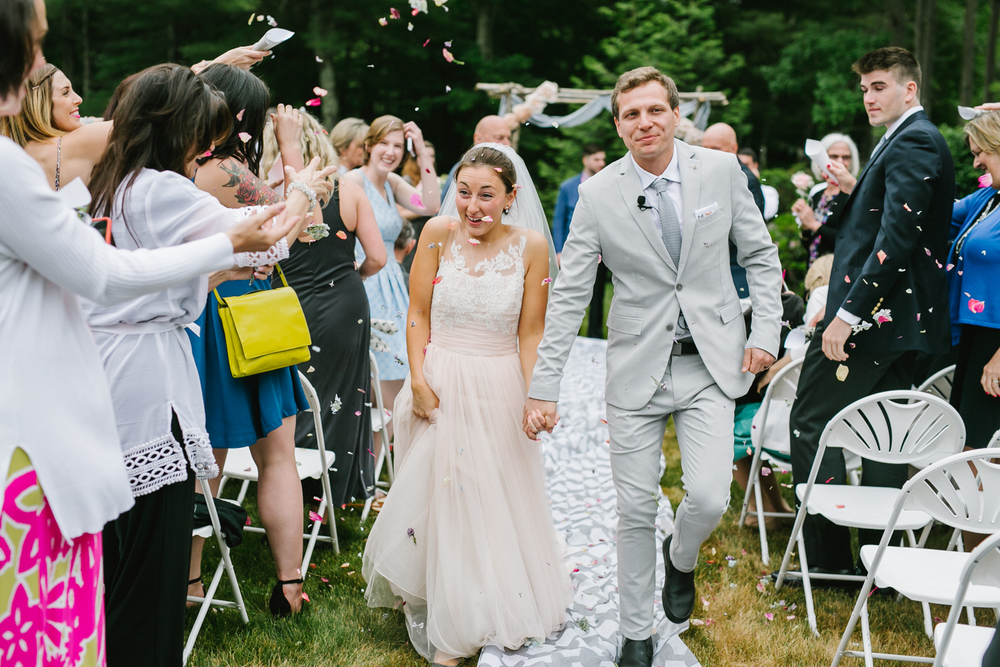 Emily Tebbetts Photography - back yard wedding gif atkinson nh confetti recessional bride and groom pizza truck -10.jpg
