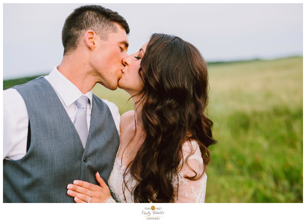 Emily Tebbetts Photography - Jackie and Ben Worthington Inn Four Corners Worthington MA Western Massachusetts Wedding Barn wedding rustic glamorous wedding bride soft waves lace wallpaper field bookcase-11.jpg