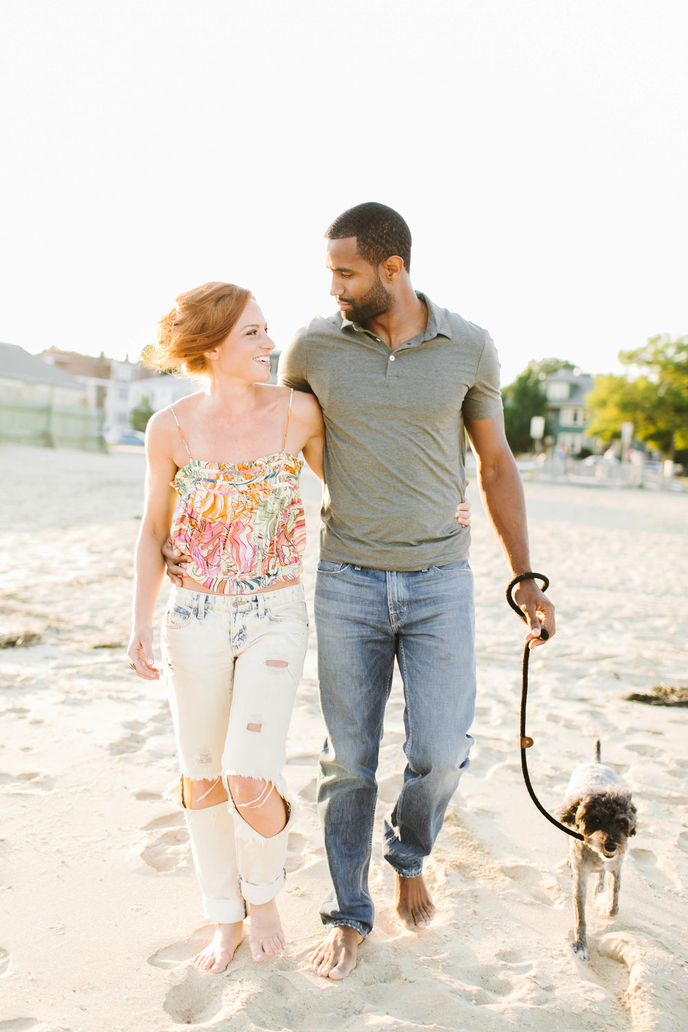 South End Boston Beach Shore Ocean Engagement Session - Emily Tebbetts Photography-45.jpg